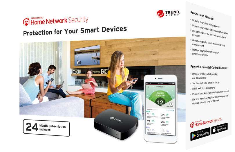 Trend Micro Home Security Device