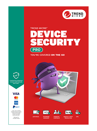 Official Trend Micro Device Security Pro Product Box Image