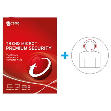 Trend Micro<br />Premium Security<br>+ IT Helpdesk