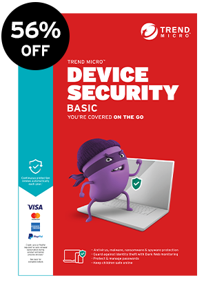 Official Trend Micro Antivirus Plus Security Product Box Image