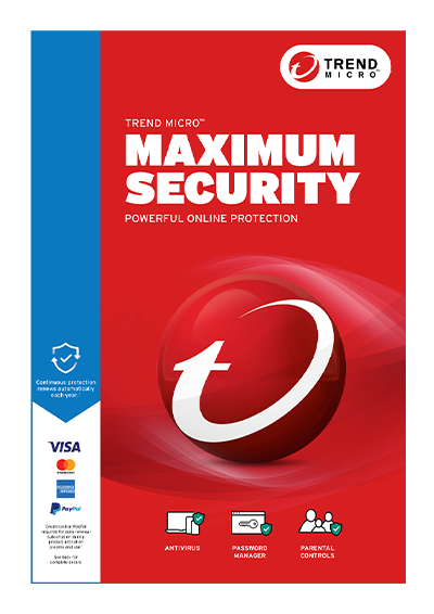 trend micro maximum security for mac
